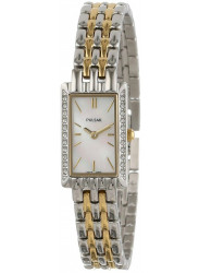 Pulsar Women's Mother of Pearl Dial Two Tone Watch PEGE77