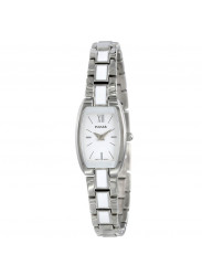 Pulsar PEGF27 Women's Fashion White Dial Stainless Steel Bracelet