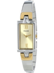 Pulsar Women's Champagne Dial Two Tone Watch PEGG13