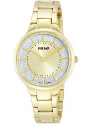Pulsar Women's Two Tone Dial Gold Tone Watch PM2132