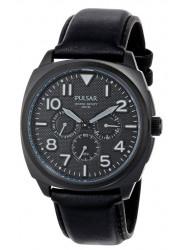 Pulsar Men's PP6085 Black Chronograph Sport Watch