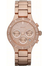 DKNY Women's Chambers Chronograph Rose Gold Watch NY8508