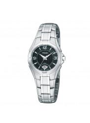 Pulsar by Seiko, Ladies PXT795 - Dress Sport Black Dial Watch