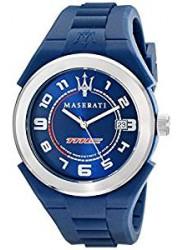 Maserati Men's Pneumatic Blue Dial Watch R8851115001