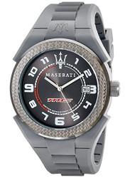 Maserati Men's Pneumatic Grey Dial Watch R8851115004