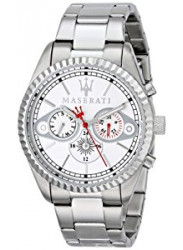 Maserati Men's Silver Stainless Steel Watch R8853100005