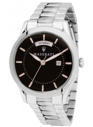 Maserati Men's Tradizione Black Dial Stainless Steel Watch R8853125002