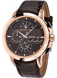 Maserati Men's Ingegno Tachymeter Chronograph Brown Dial Watch R8871619001