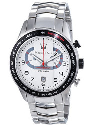 Maserati Men's Silver Dial Stainless Steel Watch R8873610001