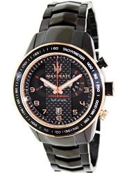Maserati Men's Black Stainless Steel Black Dial Watch R8873610002