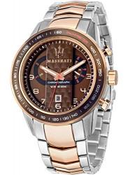 Maserati Men's Brown Dial Two Tone Watch R8873610004