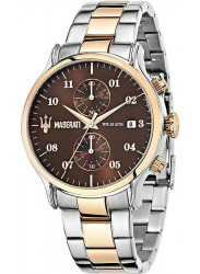Maserati Men's Epoca Brown Dial Stainless Steel Watch R8873618001