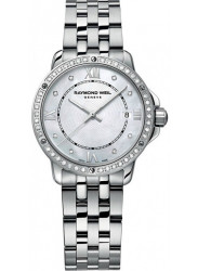 Raymond Weil Women's Tango Mother Of Pearl Diamond Dial Watch 5391-STS-00995