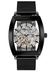 Kenneth Cole Men's New York Automatic Black Mesh Watch 10031270