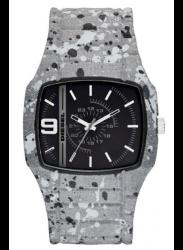 Diesel Men's Trojan Grey Silicone Watch DZ1686