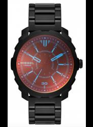 Diesel Men's Machinus Black Stainless Steel Watch DZ1737