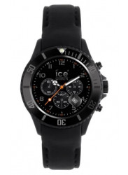 Ice Watch Men's Chronograph Black Dial Leather Watch CH.BK.B.L.11