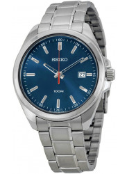 Seiko Men's Blue Dial Stainless Steel Watch SUR059