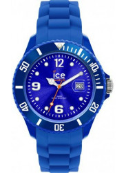 Ice Watch Unisex Blue Dial Blue Silicone Watch SI.BE.B.S.09