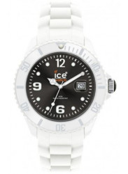 Ice Watch Unisex White Plastic Black Dial Watch SI.WK.U.S.10