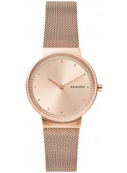 Skagen Women's Annelie Rose Gold Dial Rose Gold Stainless Steel Watch SKW2751