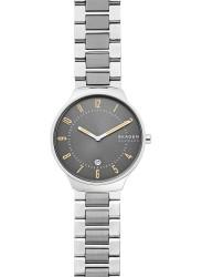 Skagen Men's Grenen Grey Dial Two Tone Stainless Steel Watch SKW6523