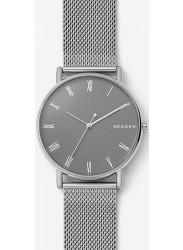 Skagen Men's Signatur Grey Dial Silver Stainless Steel Watch SKW6428