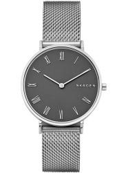 Skagen Women's Slim Hald Grey Dial Stainless Steel Watch SKW2677