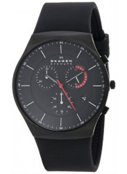 Skagen Men's Balder Silicone Quartz Watch