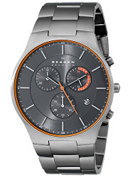 Skagen Men's Chronograph Balder Grey Dial Watch SKW6076