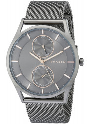 Skagen Holst Unisex Grey Dial Mesh Watch SKW6180
