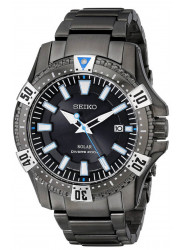 Seiko Men's Analog Display Japanese Quartz Black Watch SNE281