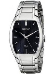 Seiko Men's SNE333 Dress Solar Analog Display Japanese Quartz Silver Watch