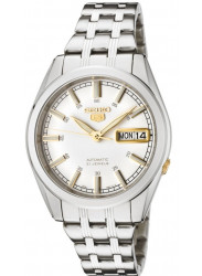 Seiko SNKH05K1 Watches Men's Automatic Stainless Steel with White Dial