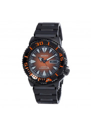 Seiko Men's Divers Automatic Orange Sunburst Dial Watch SRP311