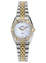Seiko Women's Solar Two Tone Watch SUP094