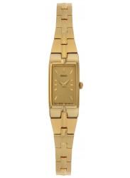 Seiko Women's Champagne Dial Gold Tone Watch SZZC44