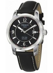 Tissot Men's PRC 200 Black Dial Watch T014.410.16.057.00