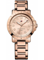 Tommy Hilfiger Women's Rose Gold Stainless Steel Watch 1781396