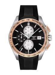 Tissot Men's Veloci-T Black Dial Chronograph Watch T024.427.27.051.00