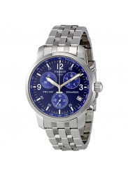 Tissot Men's Chronograph Stainless Steel Blue Dial Watch T17.1.586.42