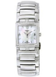 Tissot Women's T Evocation Mother-Of-Pearl Dial Watch T051.310.61.117.00