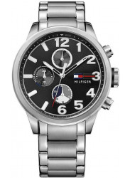Tommy Hilfiger Men's Chronograph Black Dial Watch 1791243