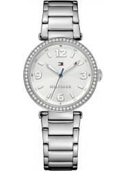 Tommy Hilfiger Women's Lynn Silver Dial Stainless Steel Watch 1781589