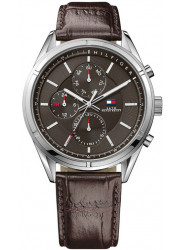 Tommy Hilfiger Men's Chale Brown Dial Brown Leather Watch 1791126
