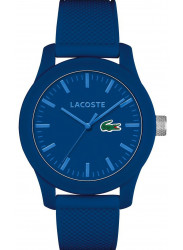 Lacoste Men's Blue Dial Blue Silicone Strap Watch 2010765
