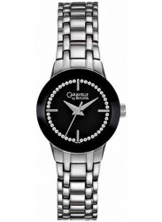 Caravelle Women's Black Dial Stainless Steel Watch 43L130