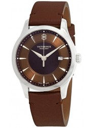 Victorinox Men's Alliance Brown Dial Brown Leather Watch 241805