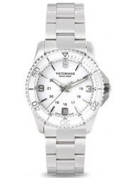 Victorinox Women's Maverick Small White White Bezel Stainless Steel Watch 241699