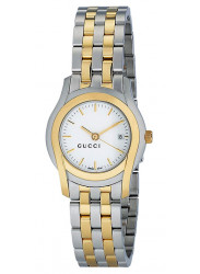 Gucci Women's G Class White Dial Two-tone Watch YA055520